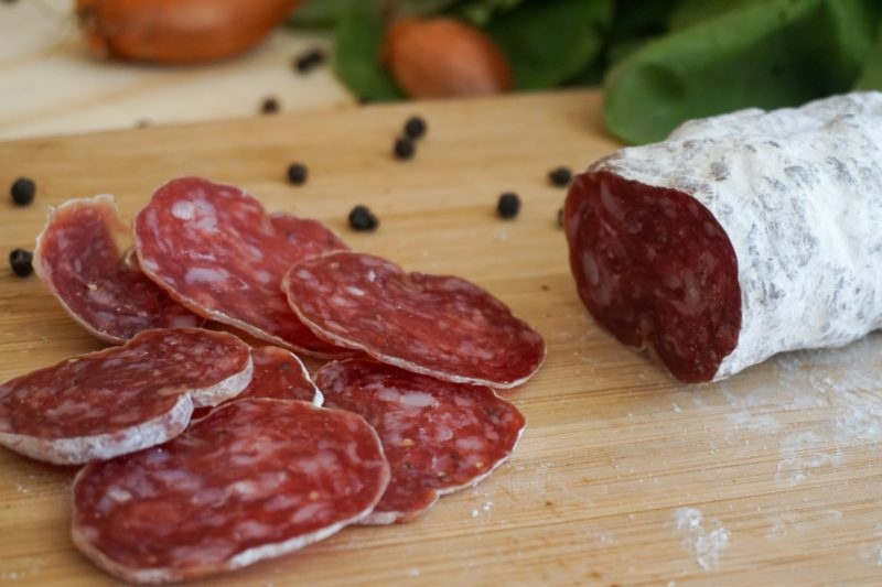 saucisson, artisanal, local, producteur, produit, fermier, bio