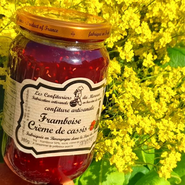 confiture, artisanale, framboise, gourmand, bio, local, lyon